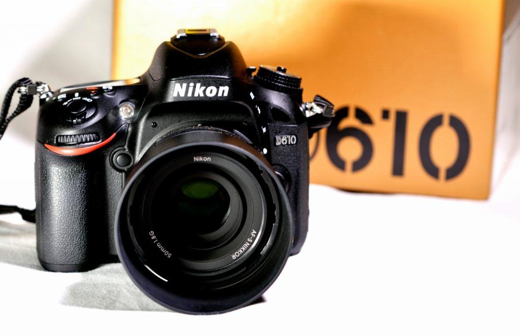New In: Nikon 610