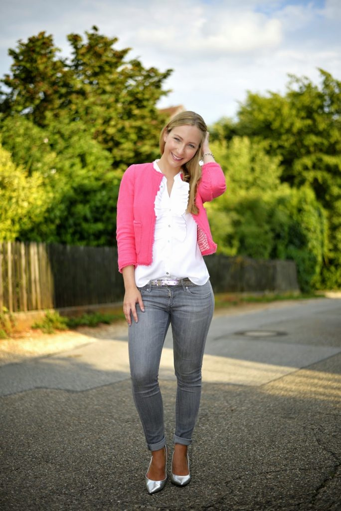Outfit: The Pink Blazer