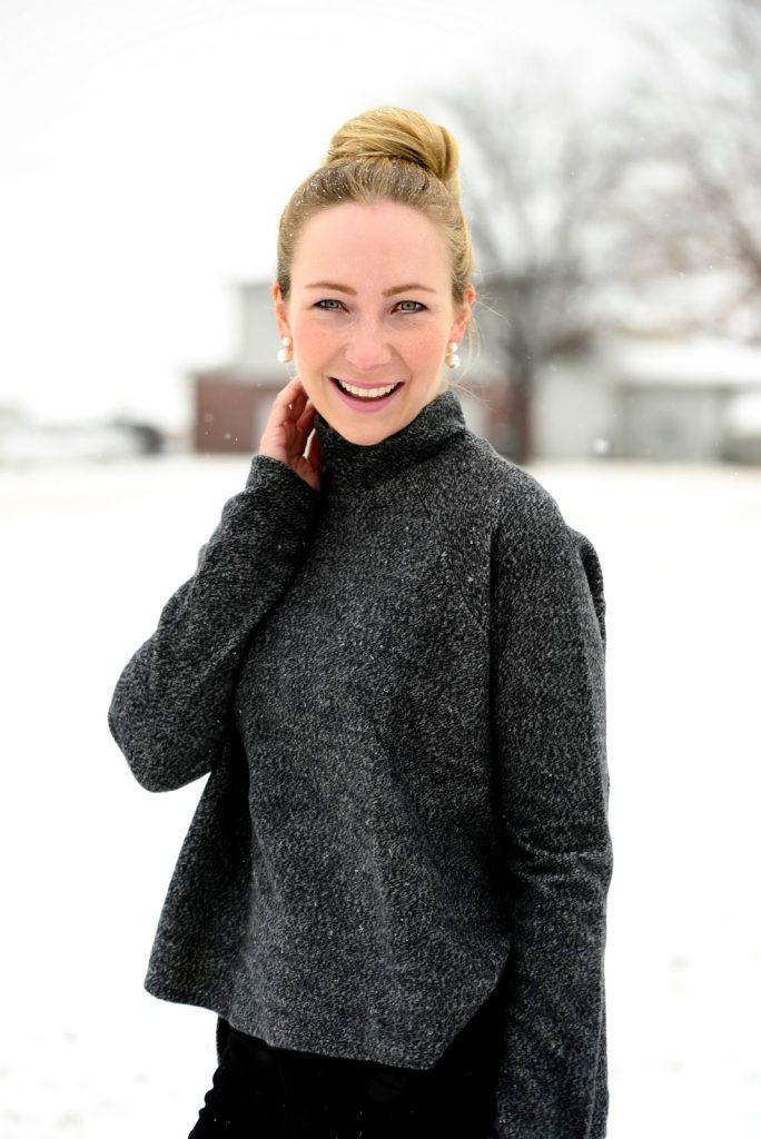 Turtleneck and Snow