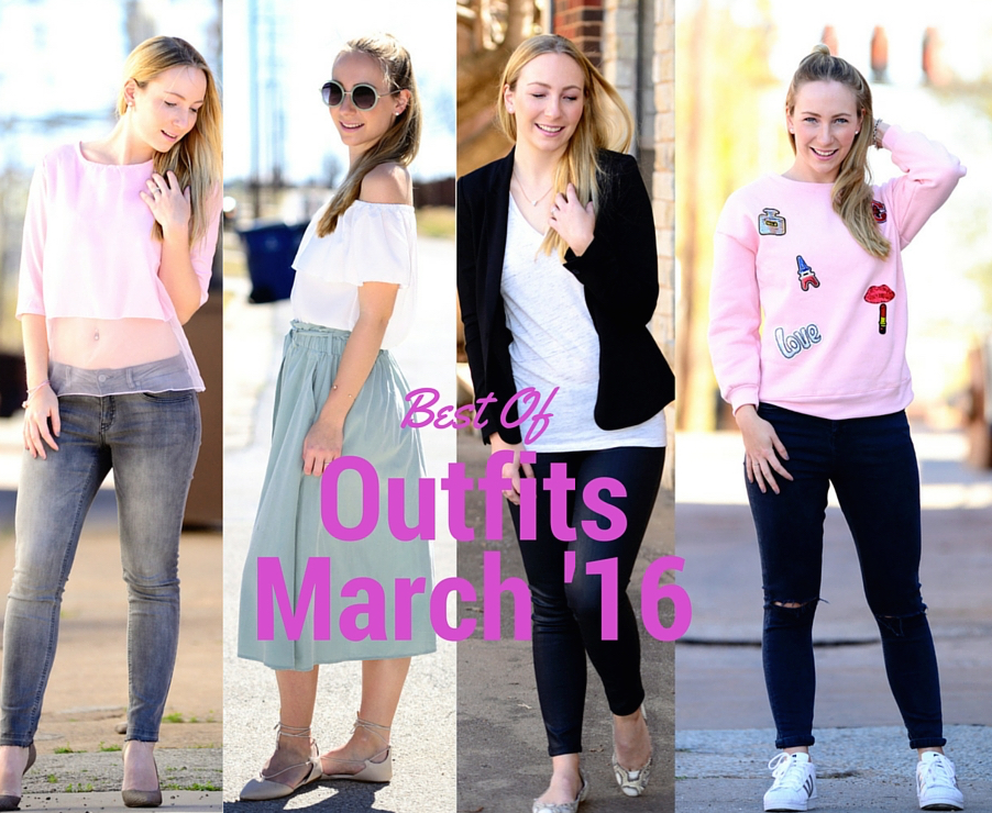 Outfits: Best of March 2016