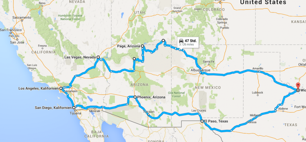 5 Things to plan before an USA Roadtrip