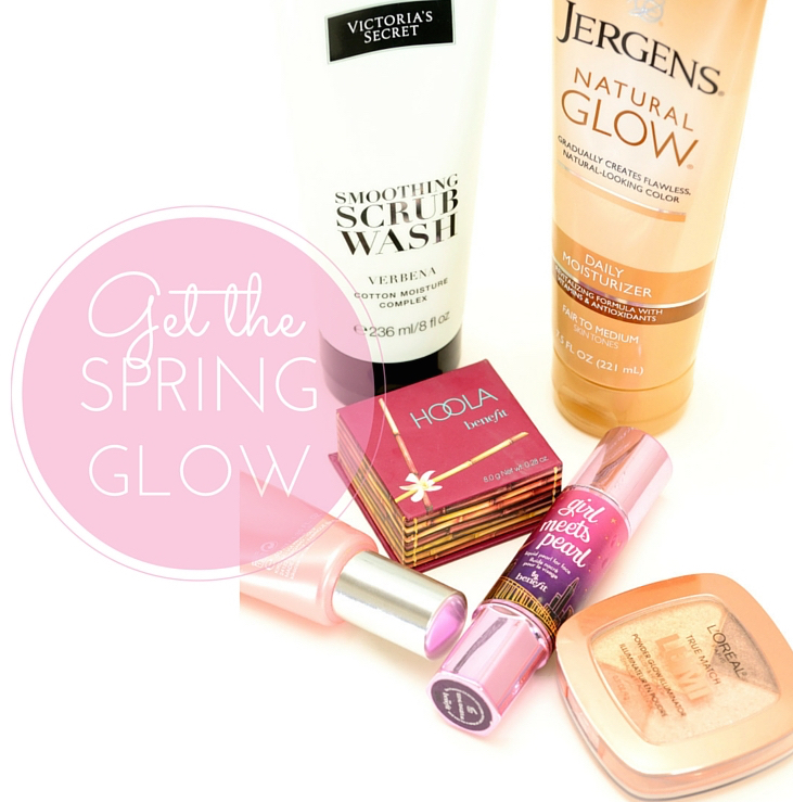 Products for the perfect Spring Glow