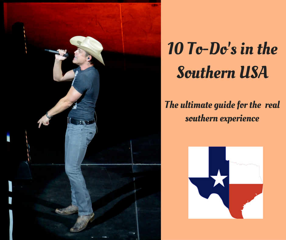 10 To-Do's in the Southern USA