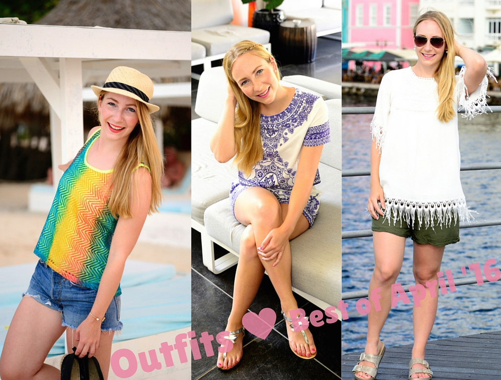 Outfits: Best of April 2016 – See my first Vacation Outfits