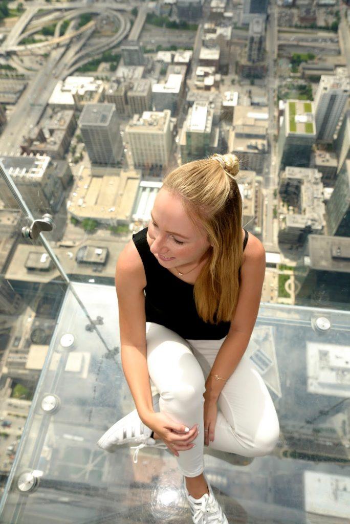 The Willis Tower Platform in Chicago