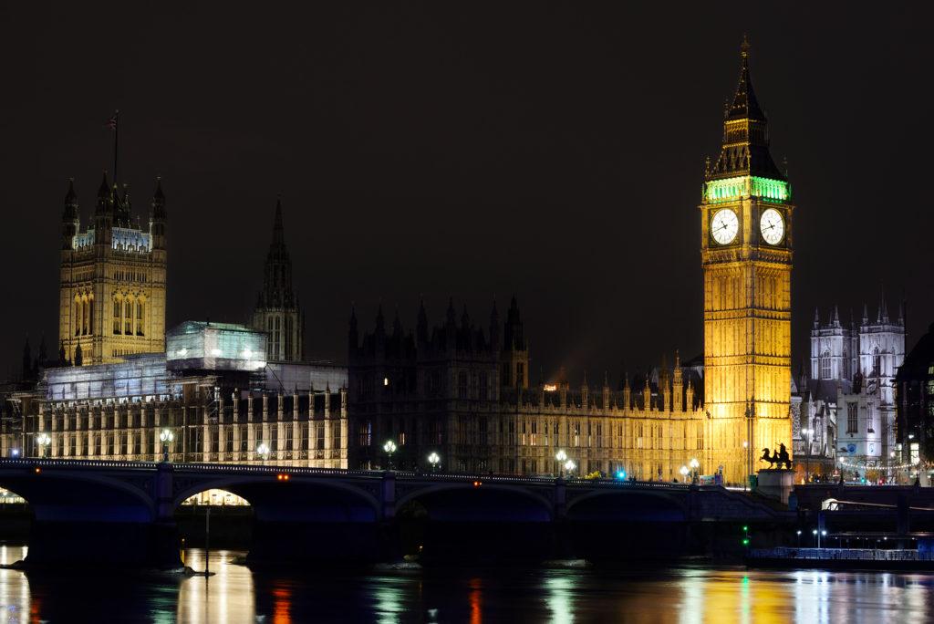 London at Night: Big Ben, Tower, London Eye…