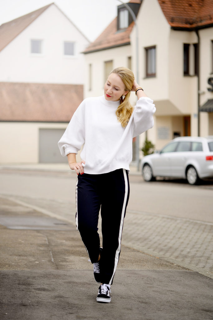 Sporty Spice with Vans, Zara Pants&Sweater