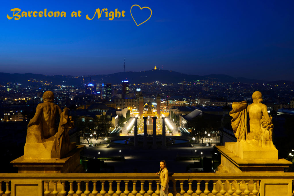 Barcelona at Night & Where to enjoy the perfect Sunset