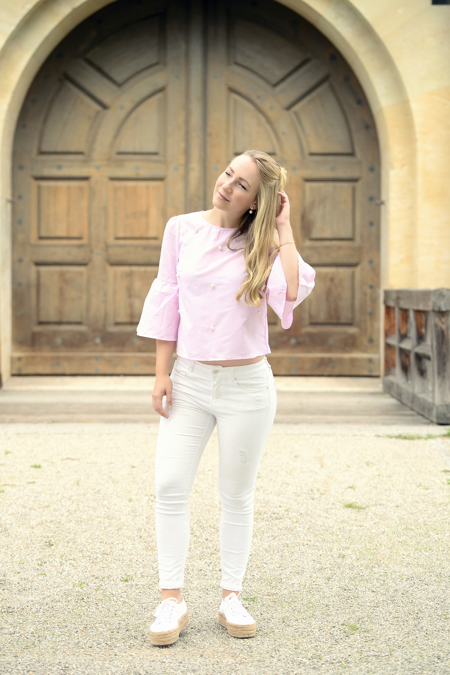 SheIn Pink Blouse