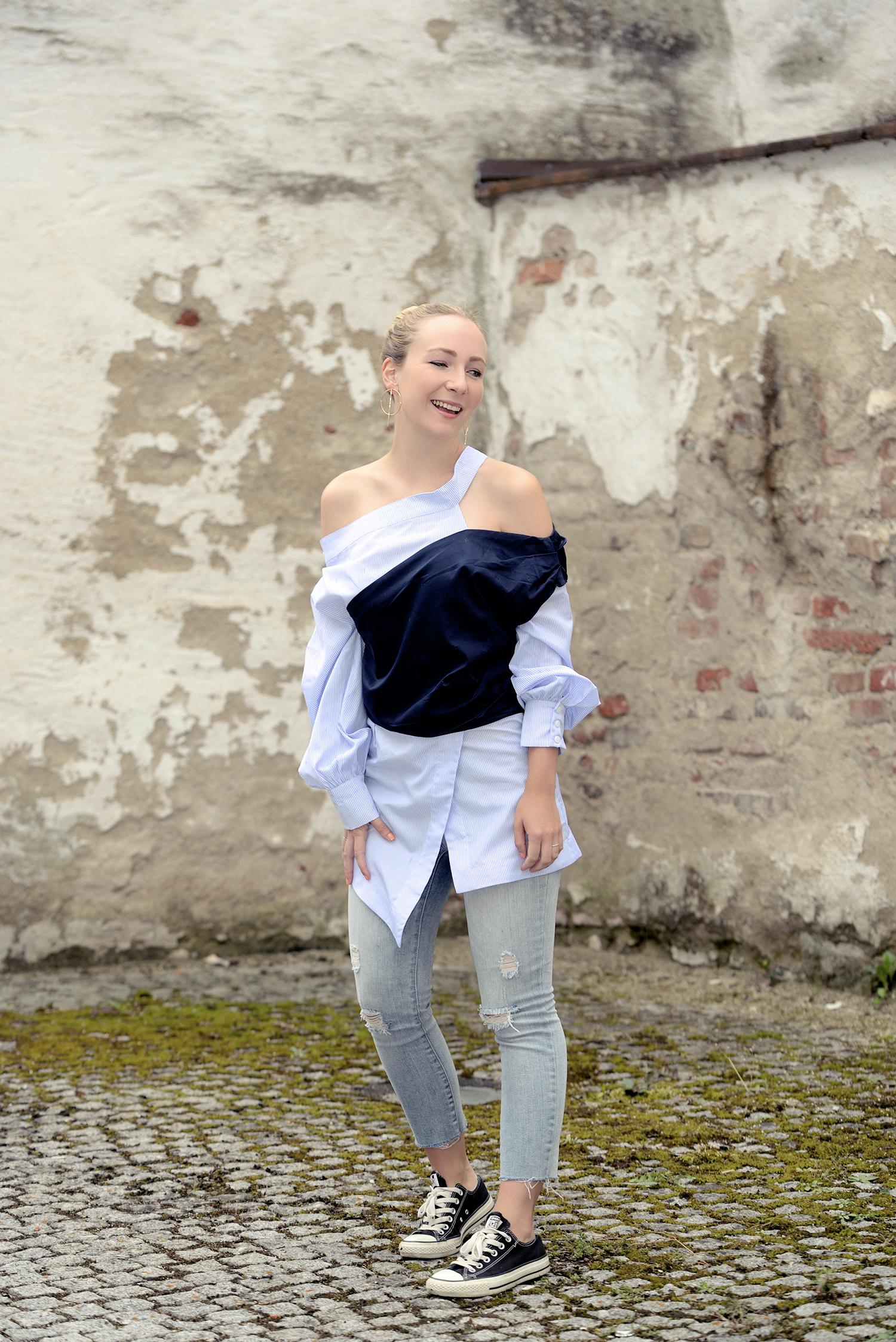 dekonstruierte Kleidung Erklärung Stylewe Blouse TheKontemporary