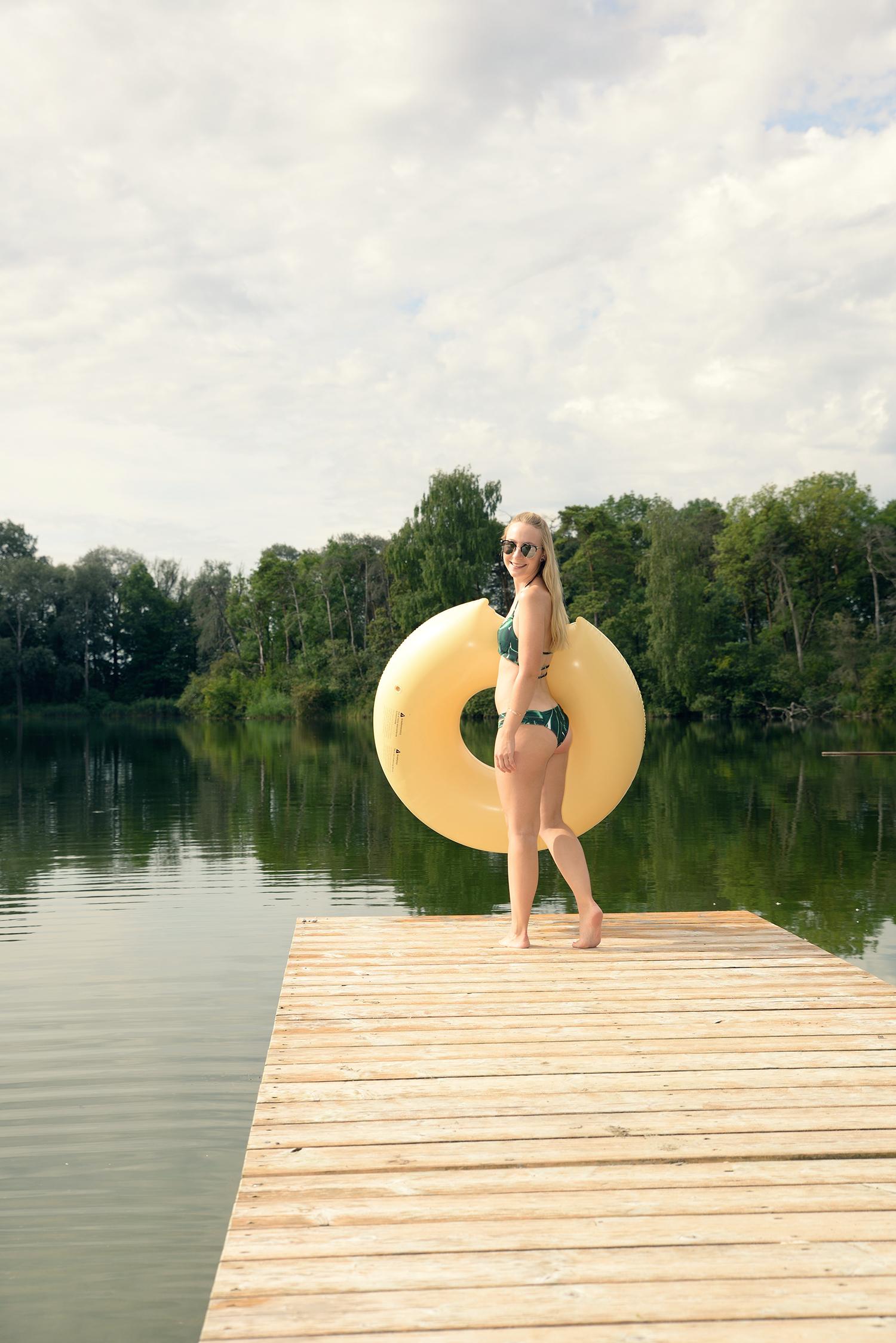 Zaful Palms Bikini