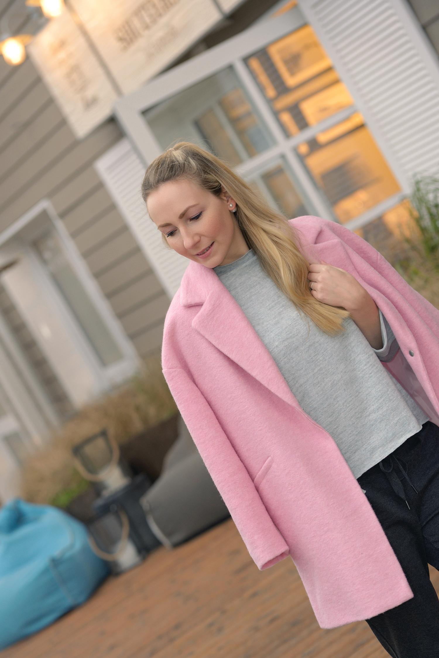 Pink Mango Coat