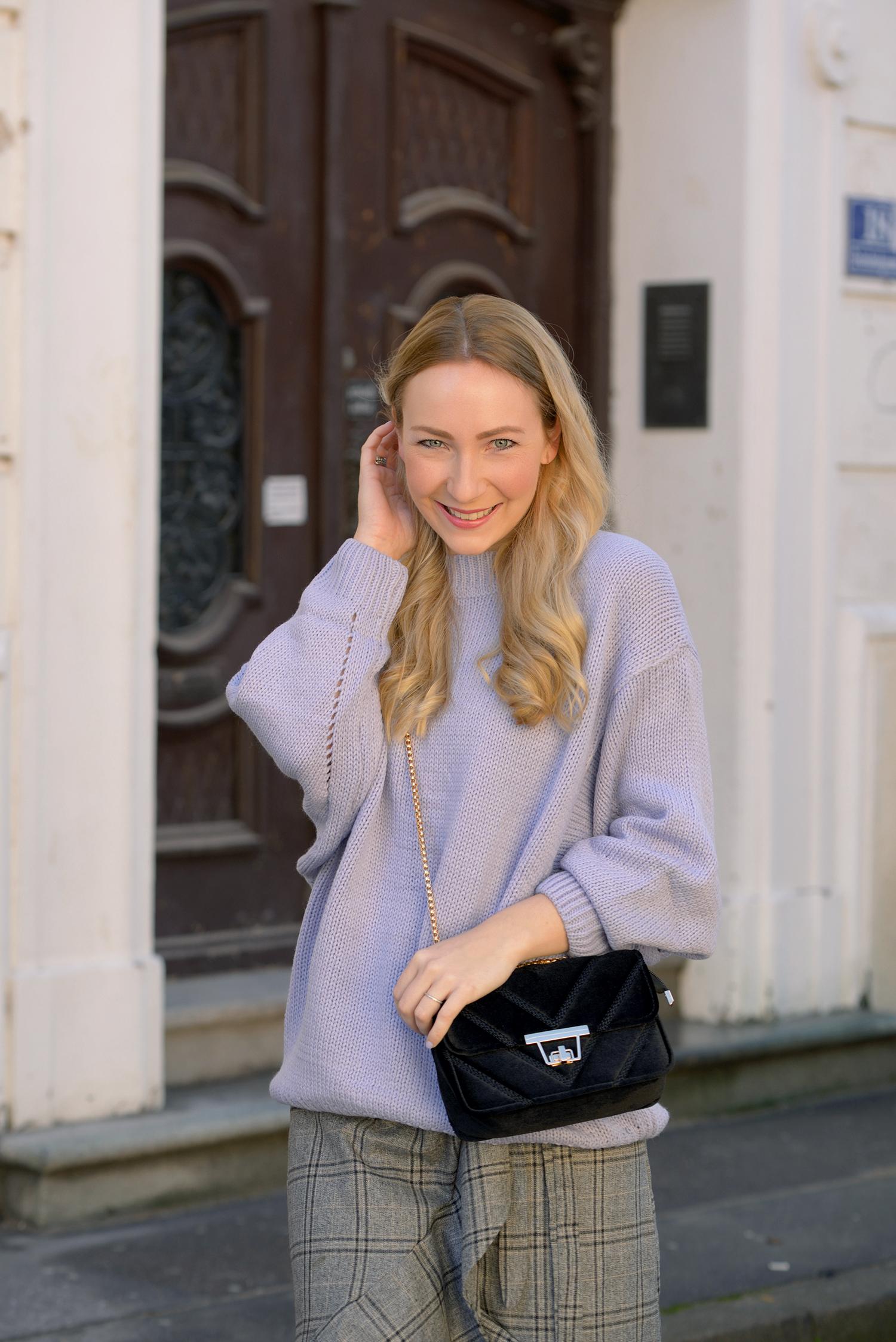Lavender as knitwear for winter