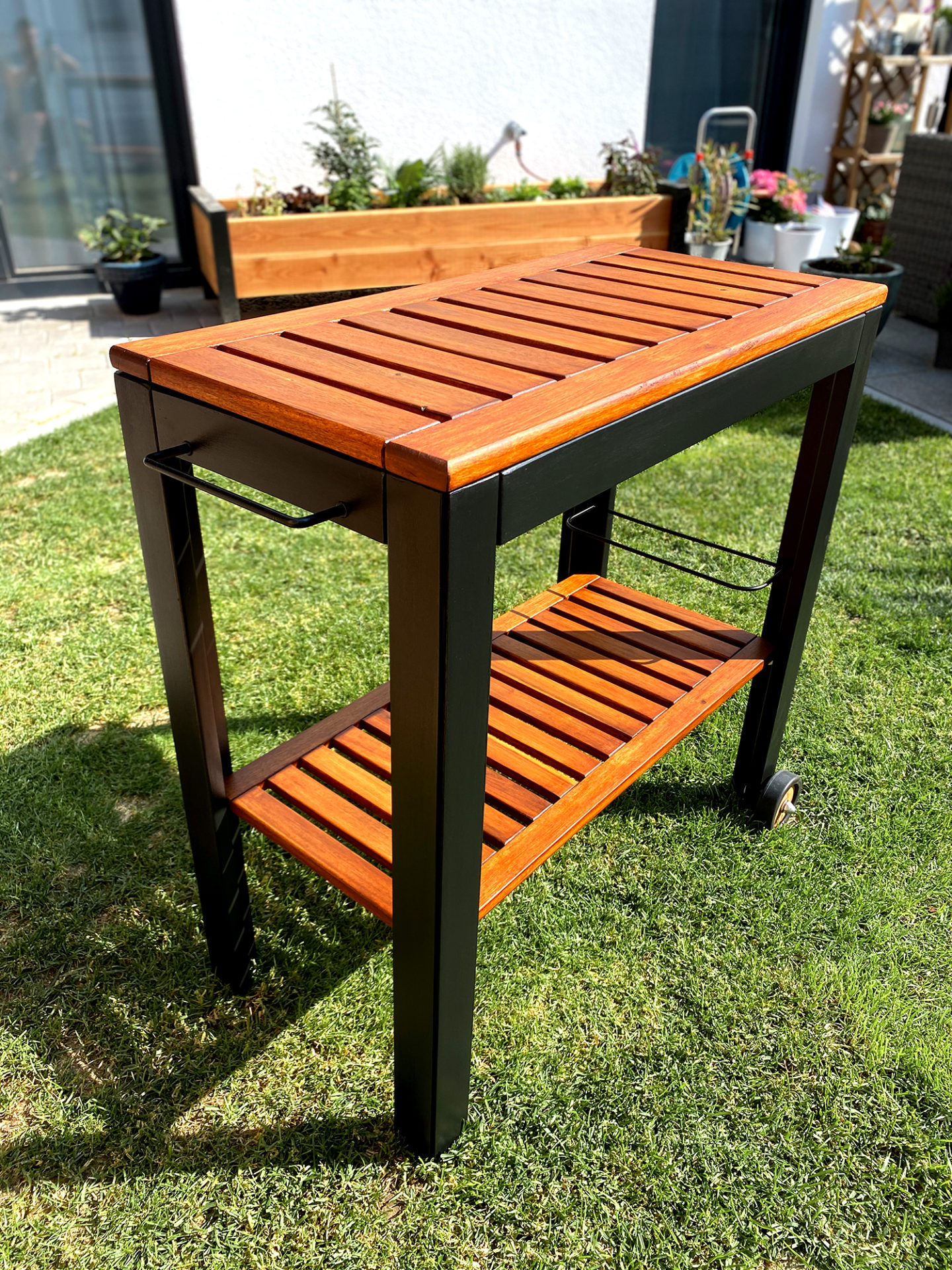 DIY Grilltisch Upcycling Remmers