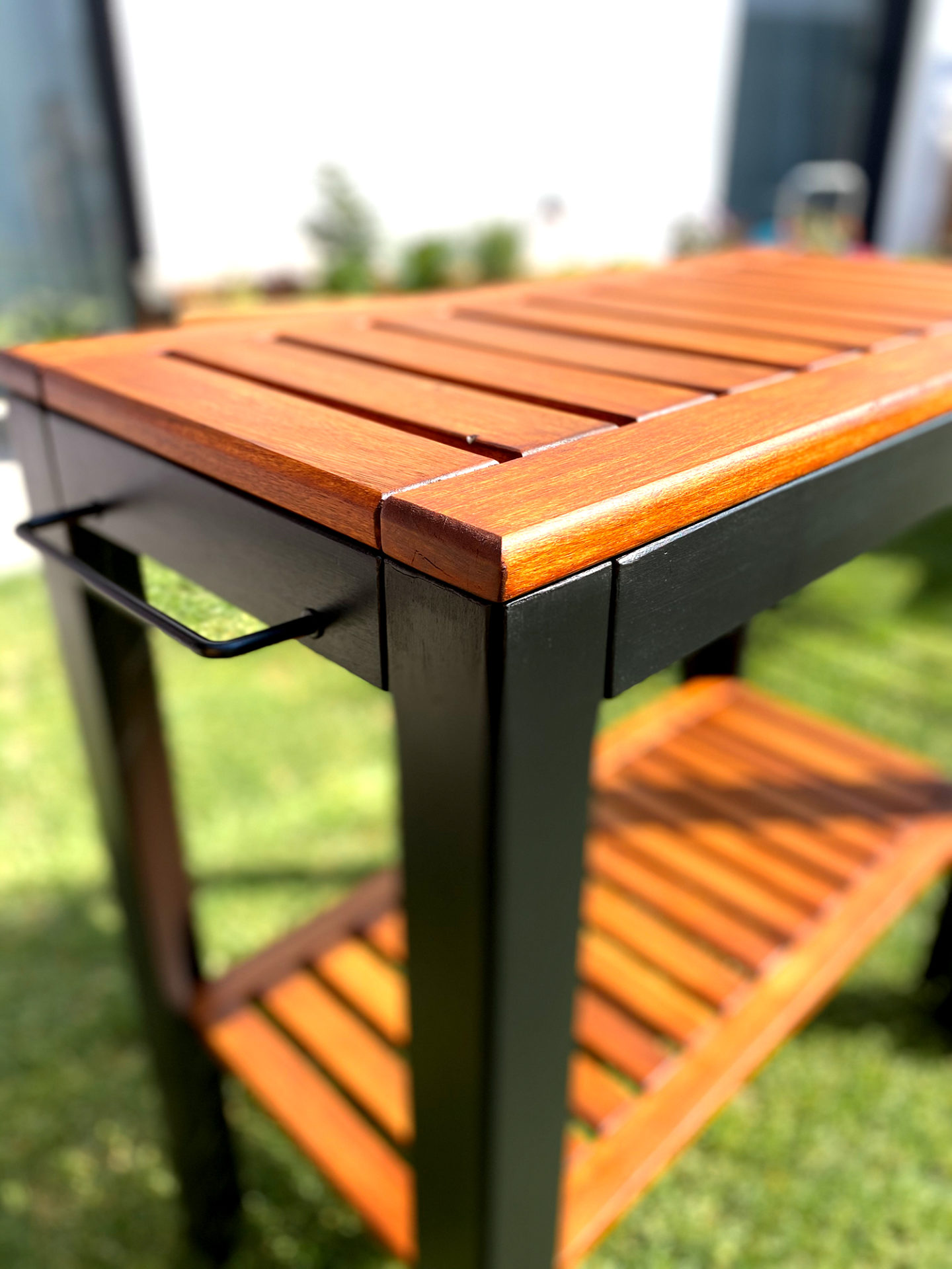 Outdoor Grilltisch DIY Remmers