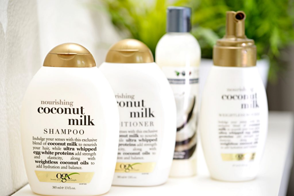 Beauty: Coconut Power with OGX Coconut Milk