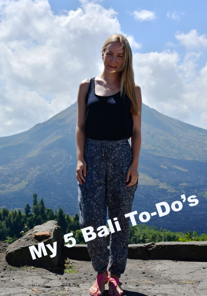 Throwback Thursday: Bali Roundtrip and my 5 ultimate To-Do's