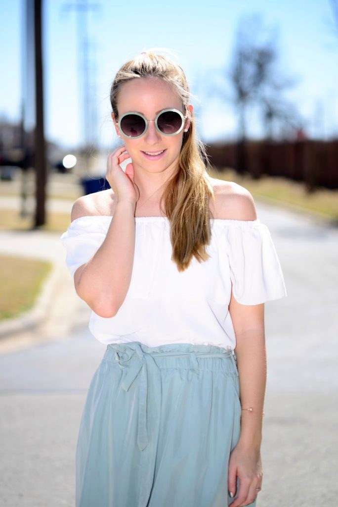 The Forever21 light green Skirt