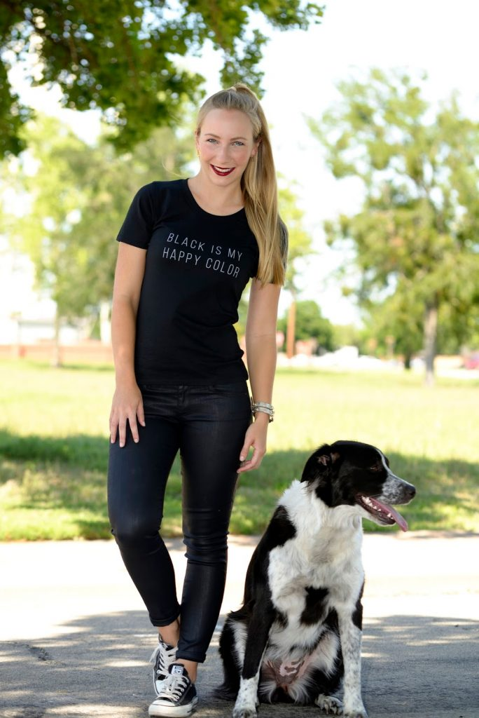 Black is my Happy Color – Kater Likoli Shirt