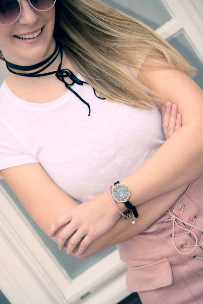 New Watch in Town & Lace-up Skirt
