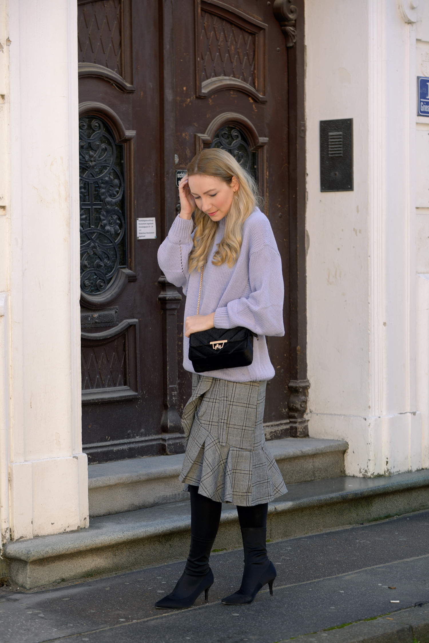 Lavender as knitwear for winter